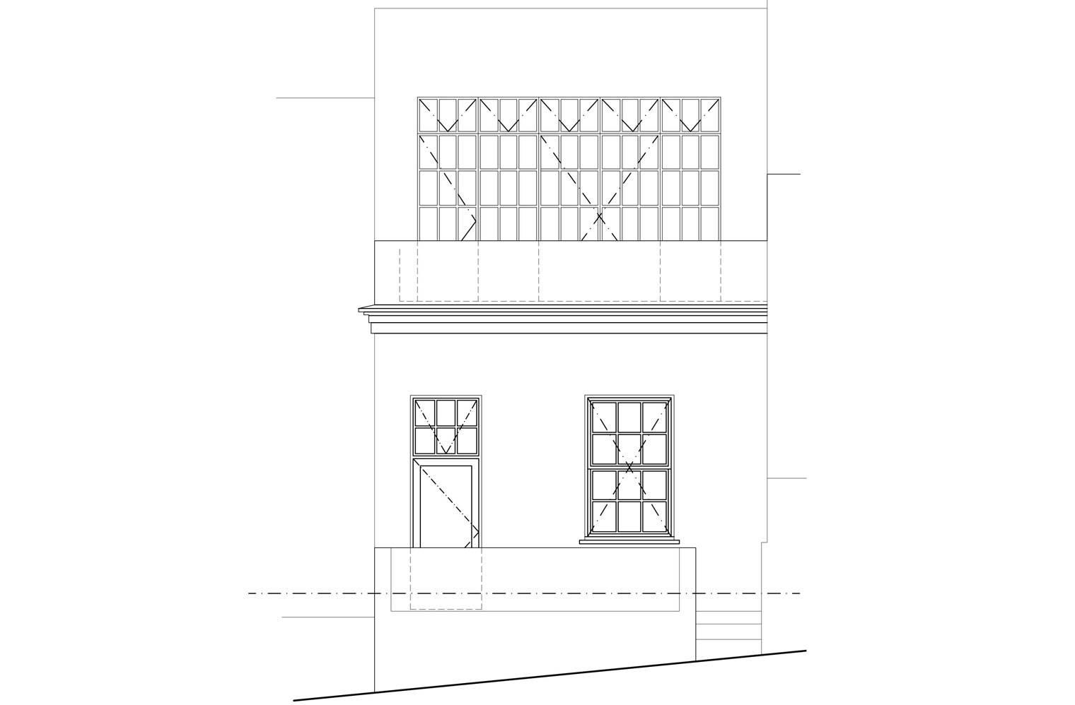 45 Leeuwen Street - Street Elevation