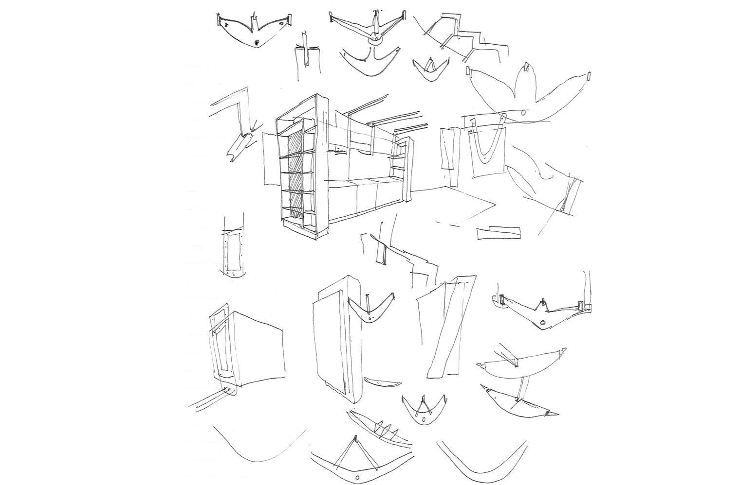 45 Leeuwen Street - Sketches