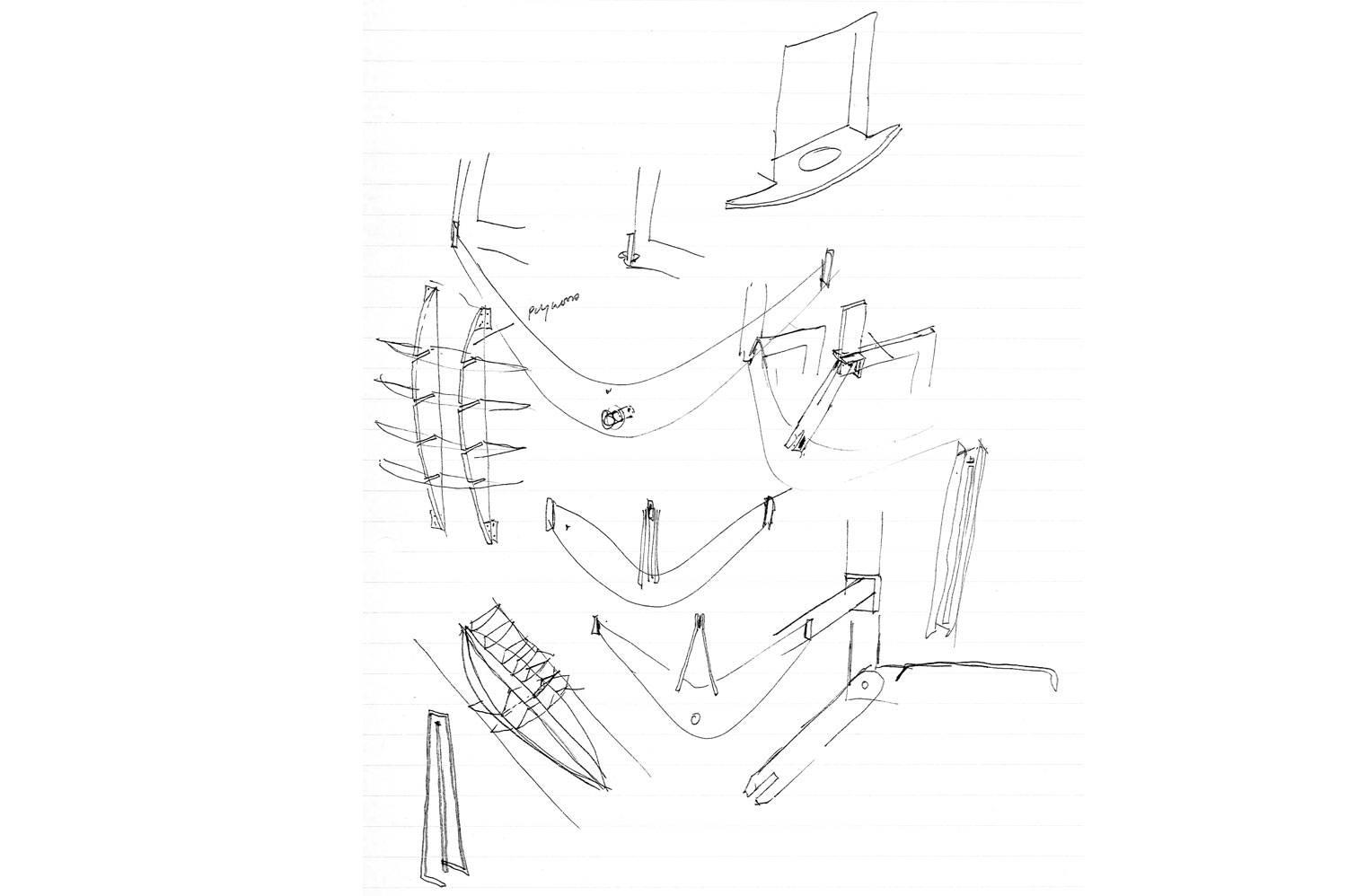 45 Leeuwen Street - Sketches of Stairs