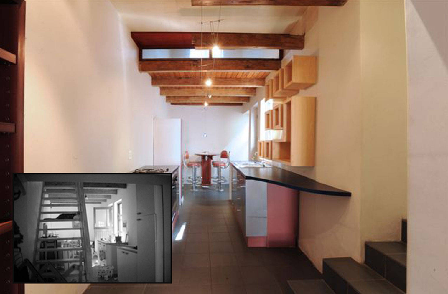 45 Leeuwen Street- 'before and after'