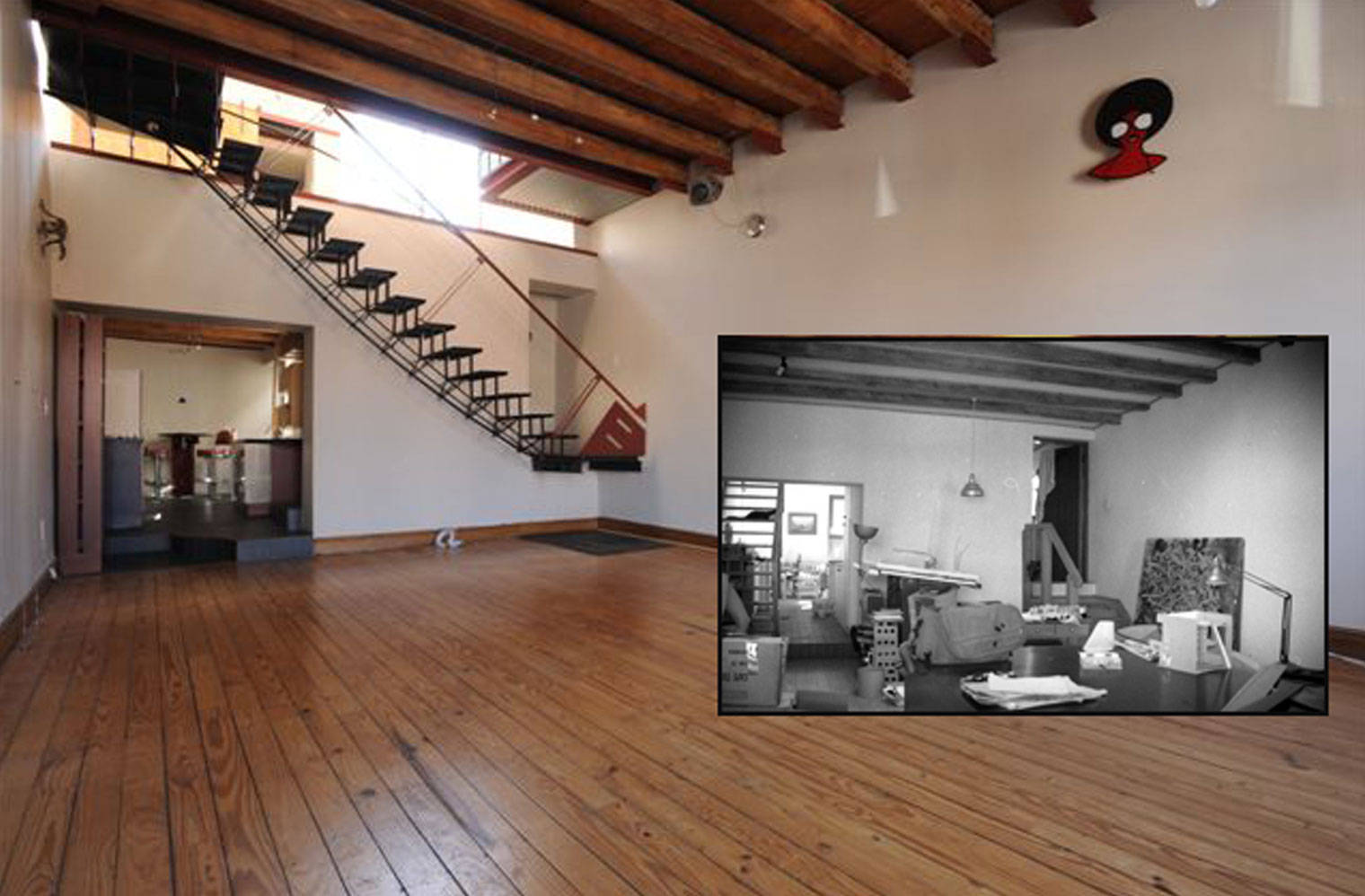45 Leeuwen Street - 'before and after'