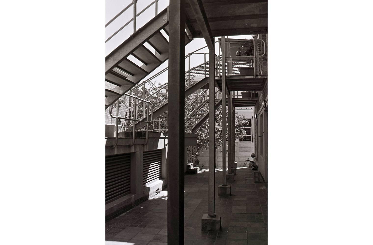 5 Roodehek Street - Steel Canopy Detail