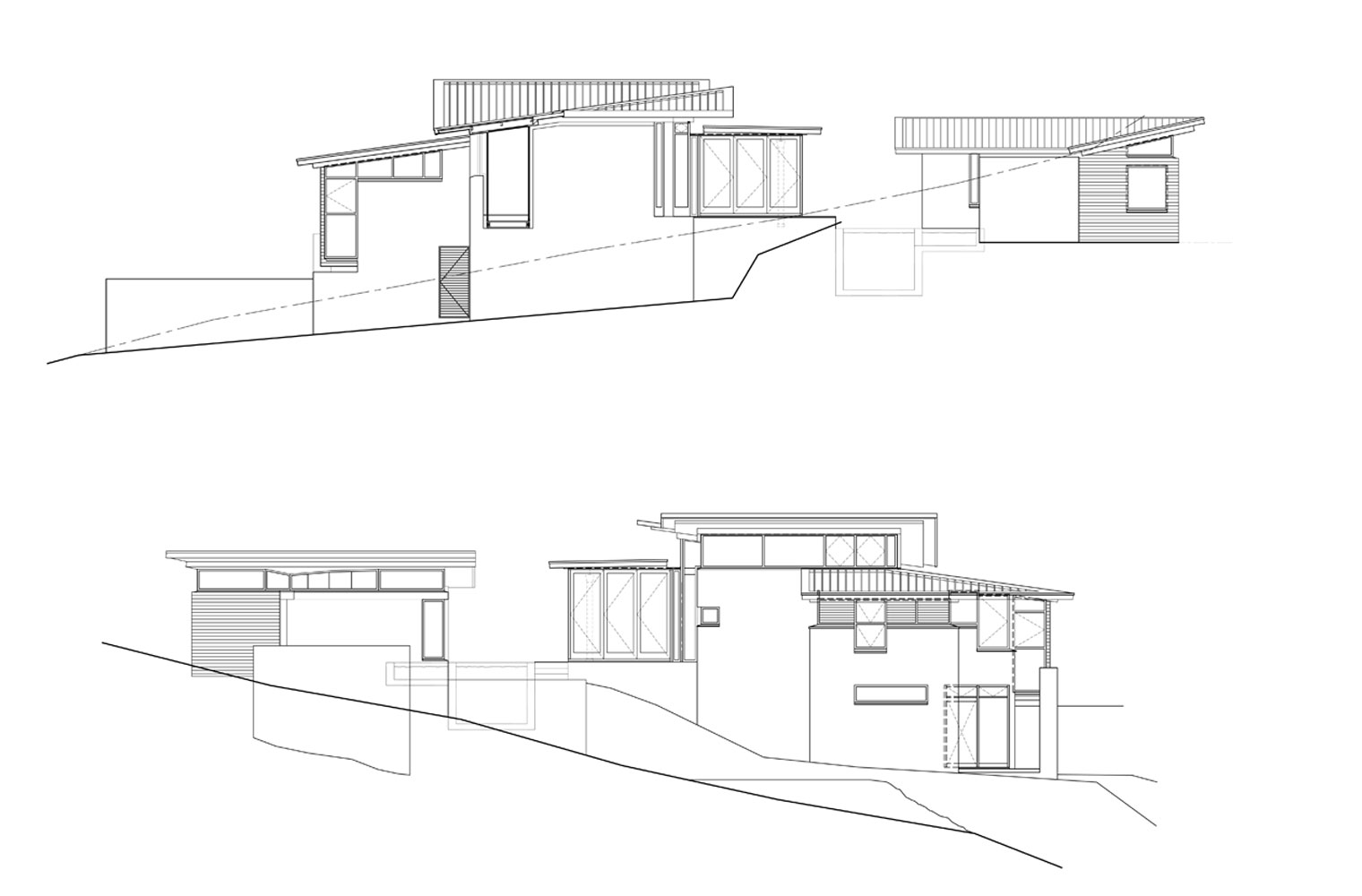 House Vith - Elevations