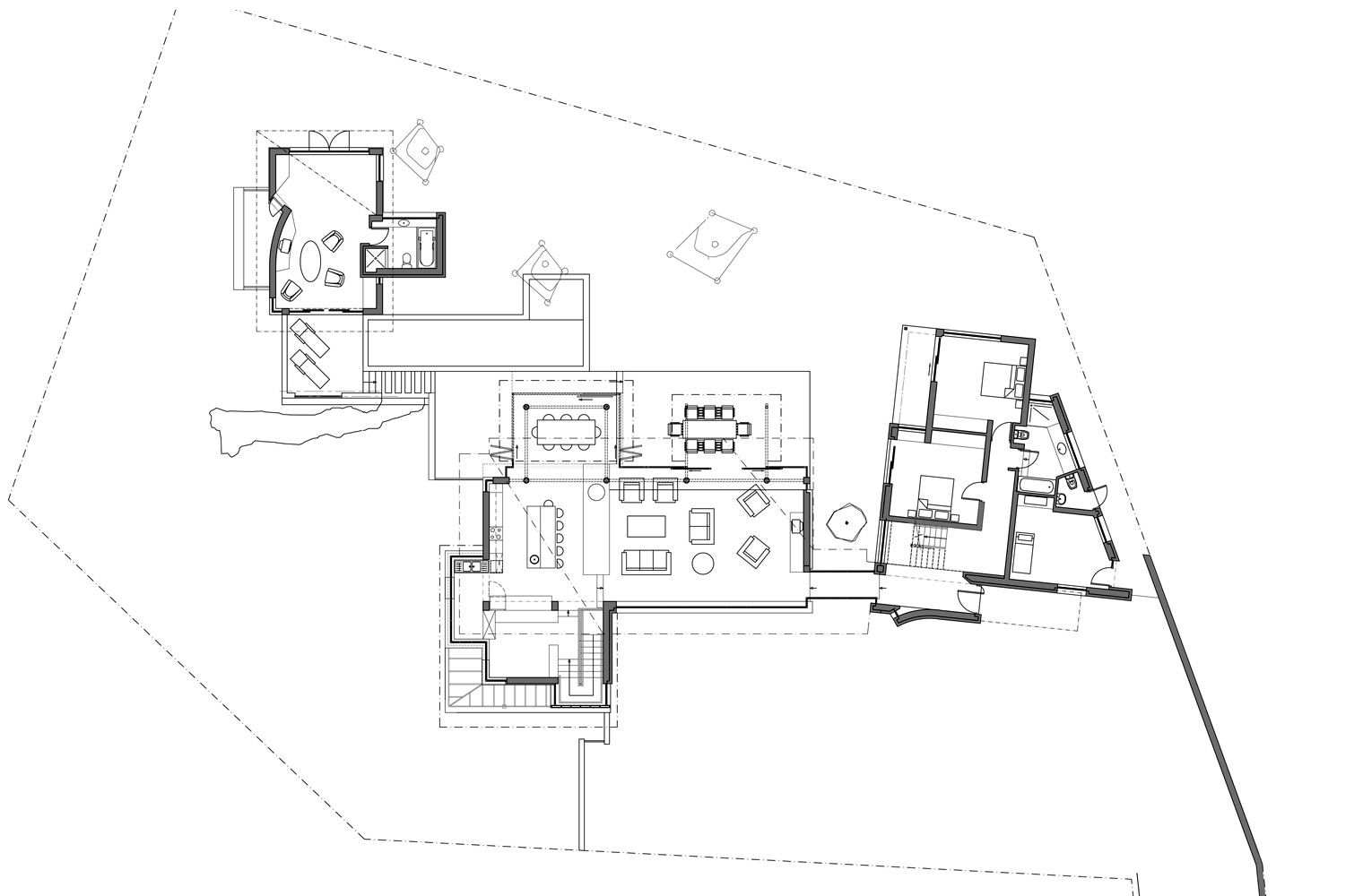 House Vith - Ground Floor Plan