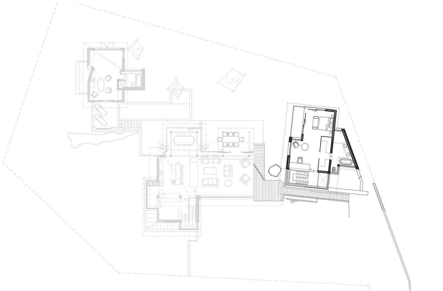 House Vith - First Floor Plan