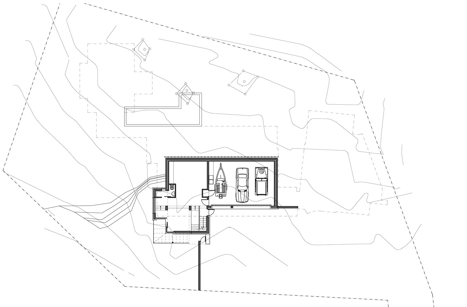 House Vith - Lower Ground Floor Plan