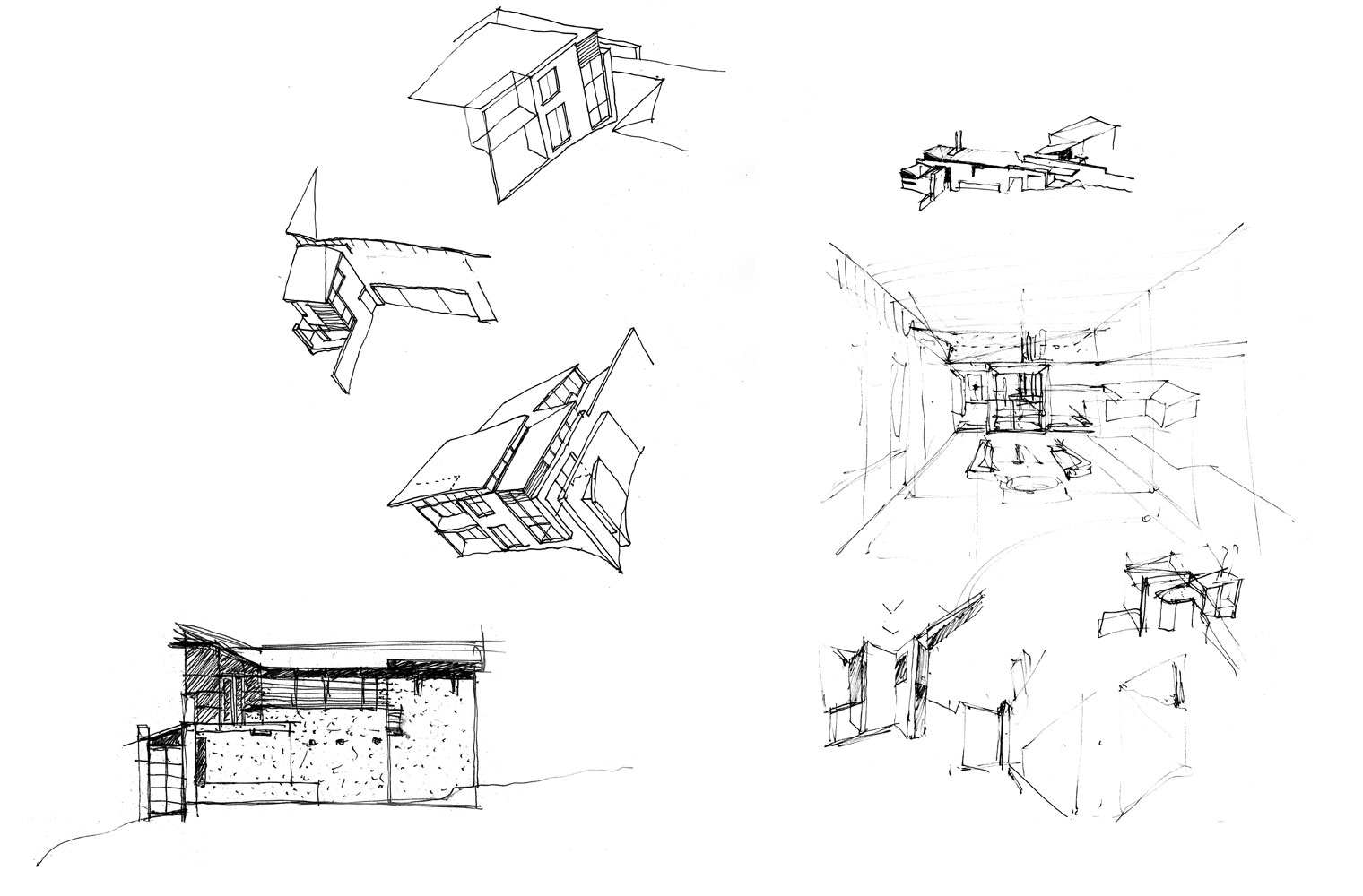 House Vith - Concept Sketches
