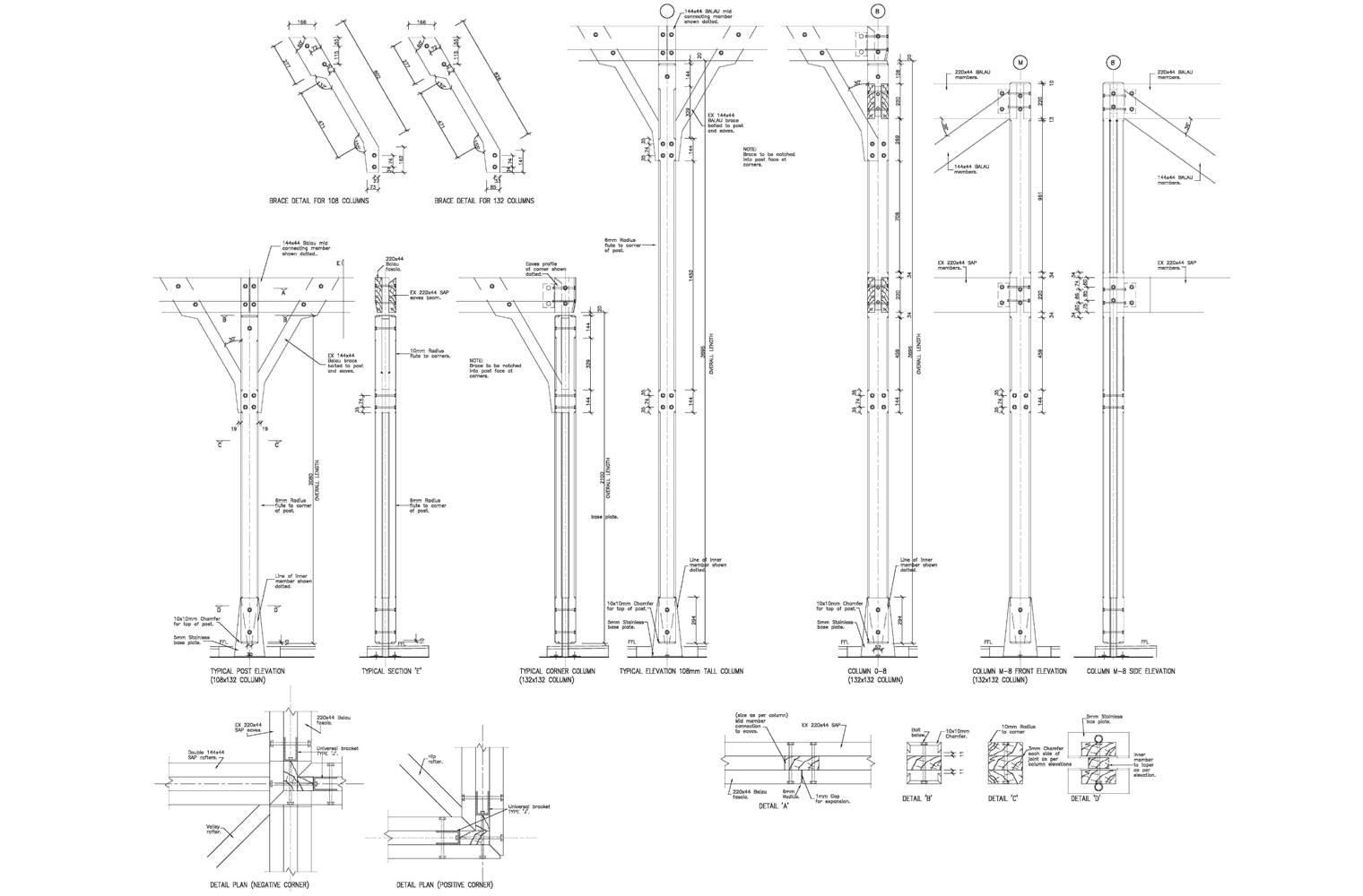 House Malan - Timber Details