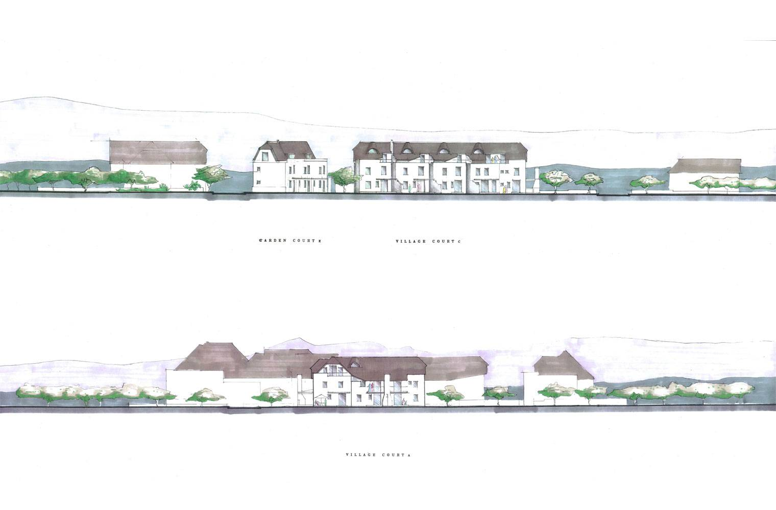 St. Francis Bay - Concept Elevations