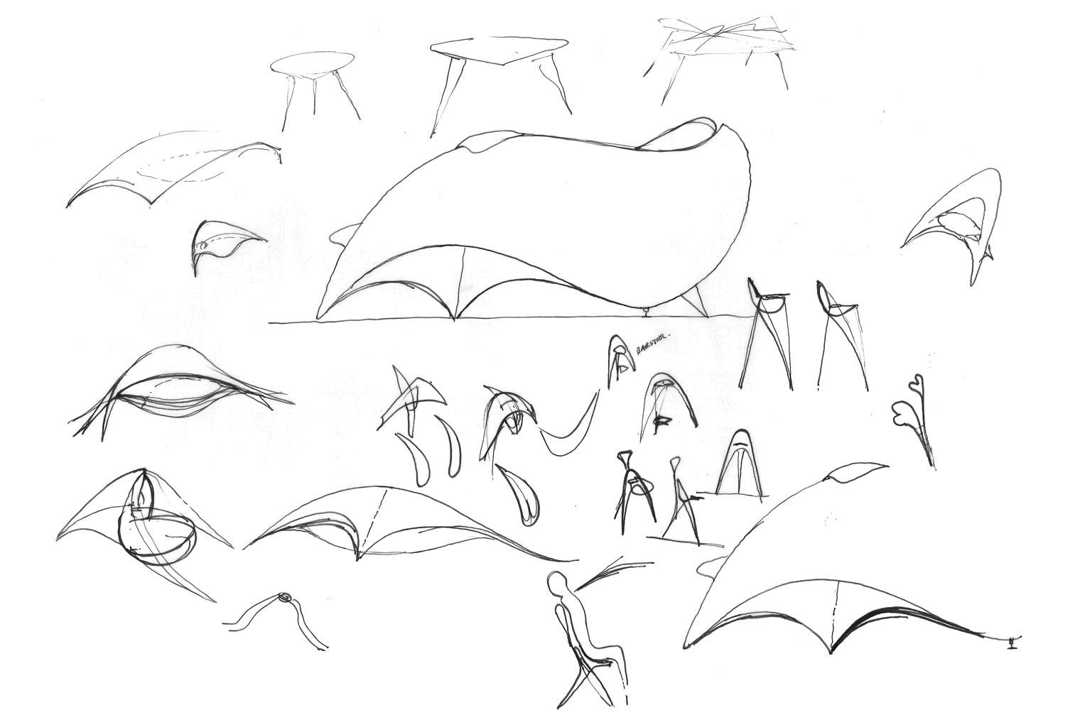 Whale Seat - Design Sketches