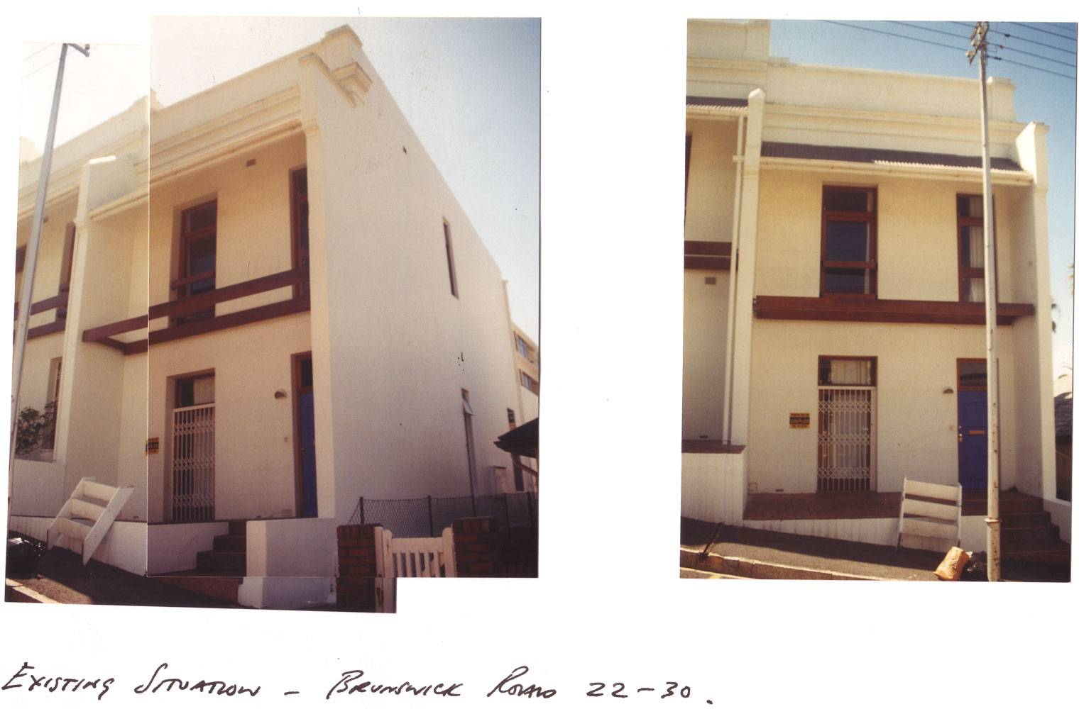 Brunswick Terraces - Before