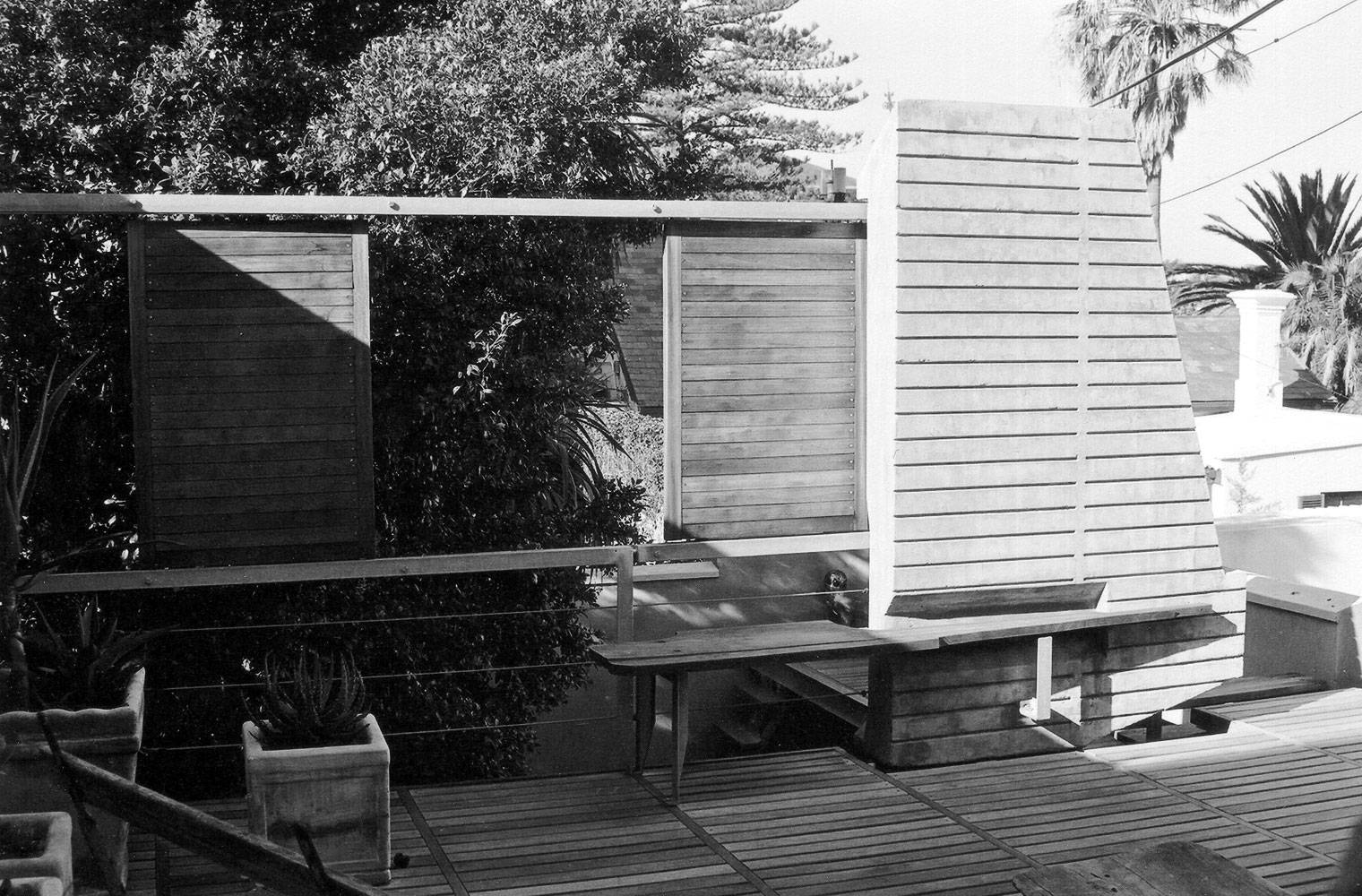 Brunswick Terraces - Concrete Screen & Shutter
