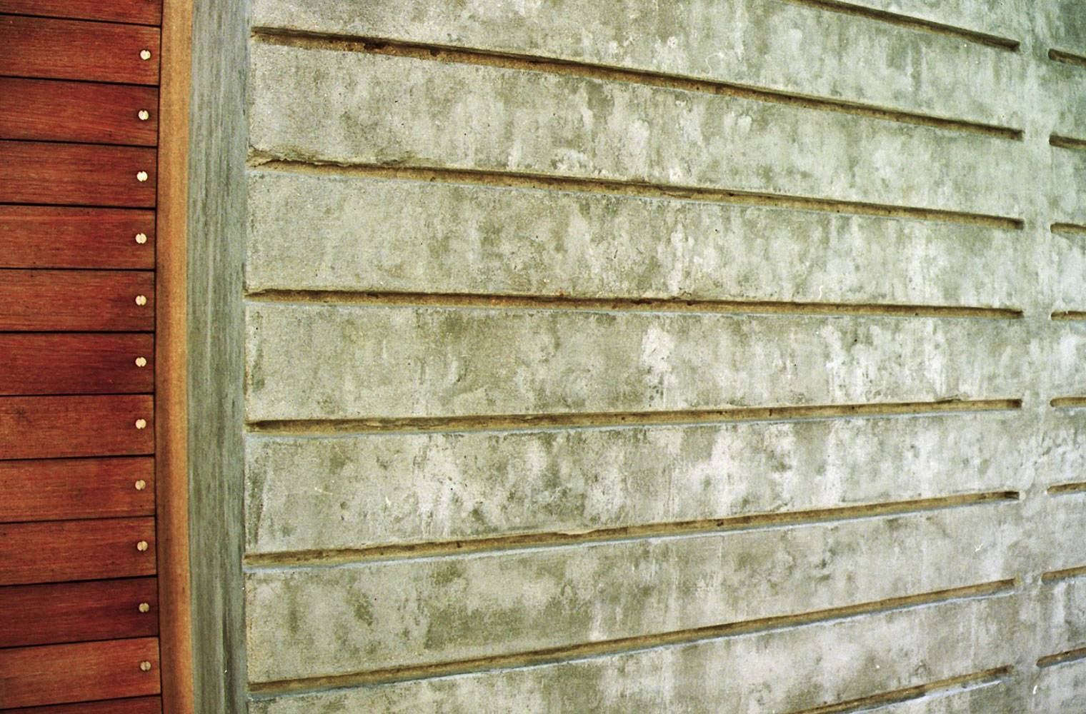 Brunswick Terraces - Detail Concrete Screen