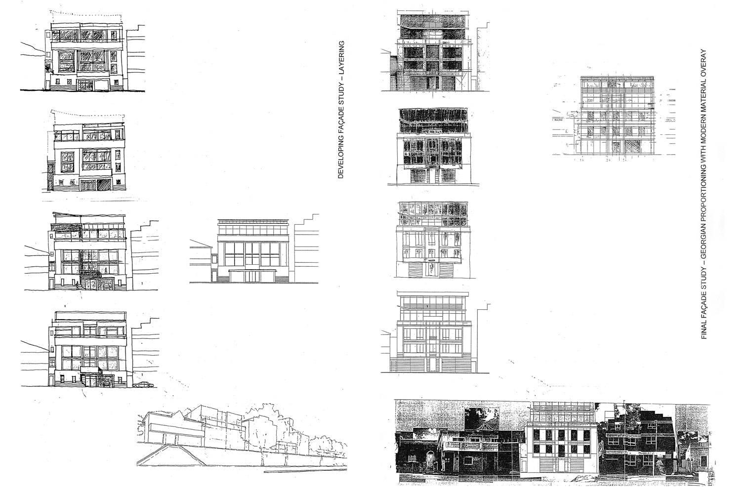 218 Buitengragt Street - Facade Studies