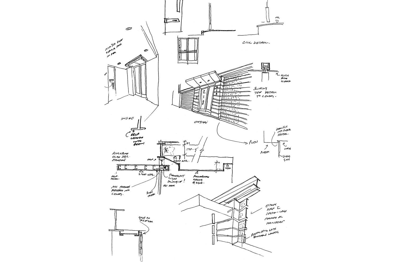218 Buitengragt Street - Sketch Details