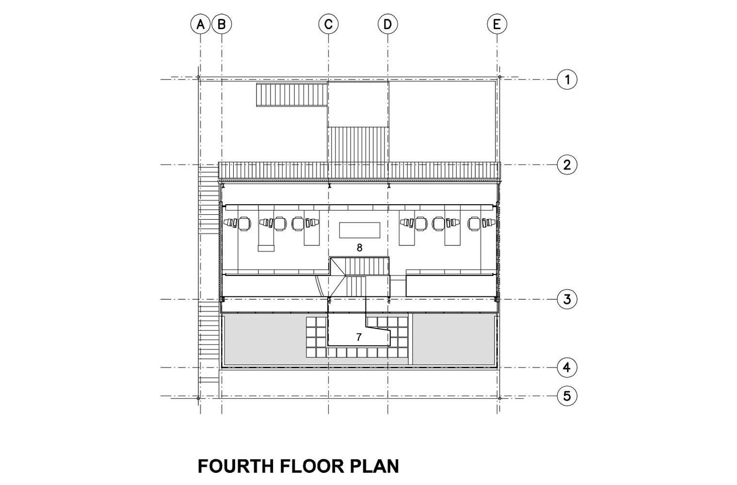 218 Buitengragt Street - Mezzanine Plan