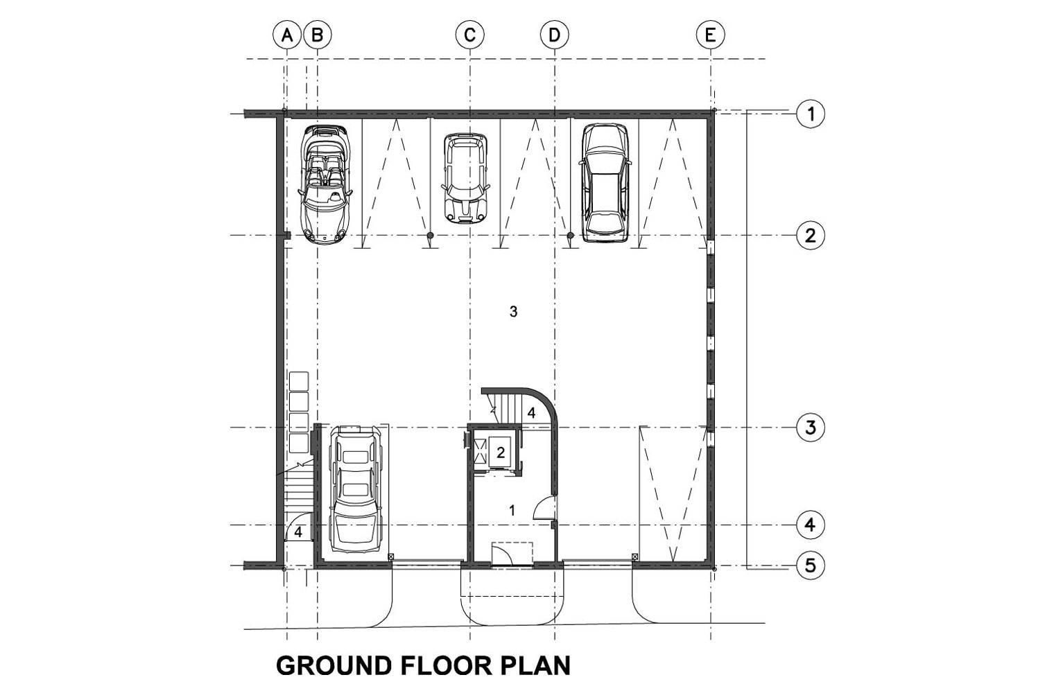218 Buitengragt Street - Ground Floor Plan