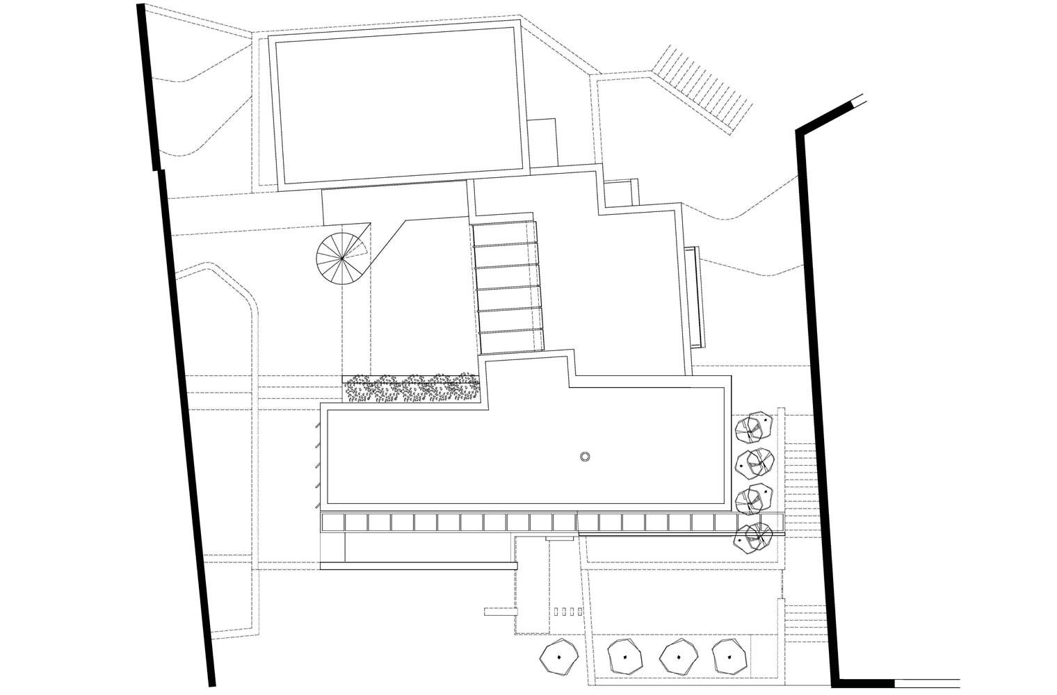 House Ferraz - Roof Plan