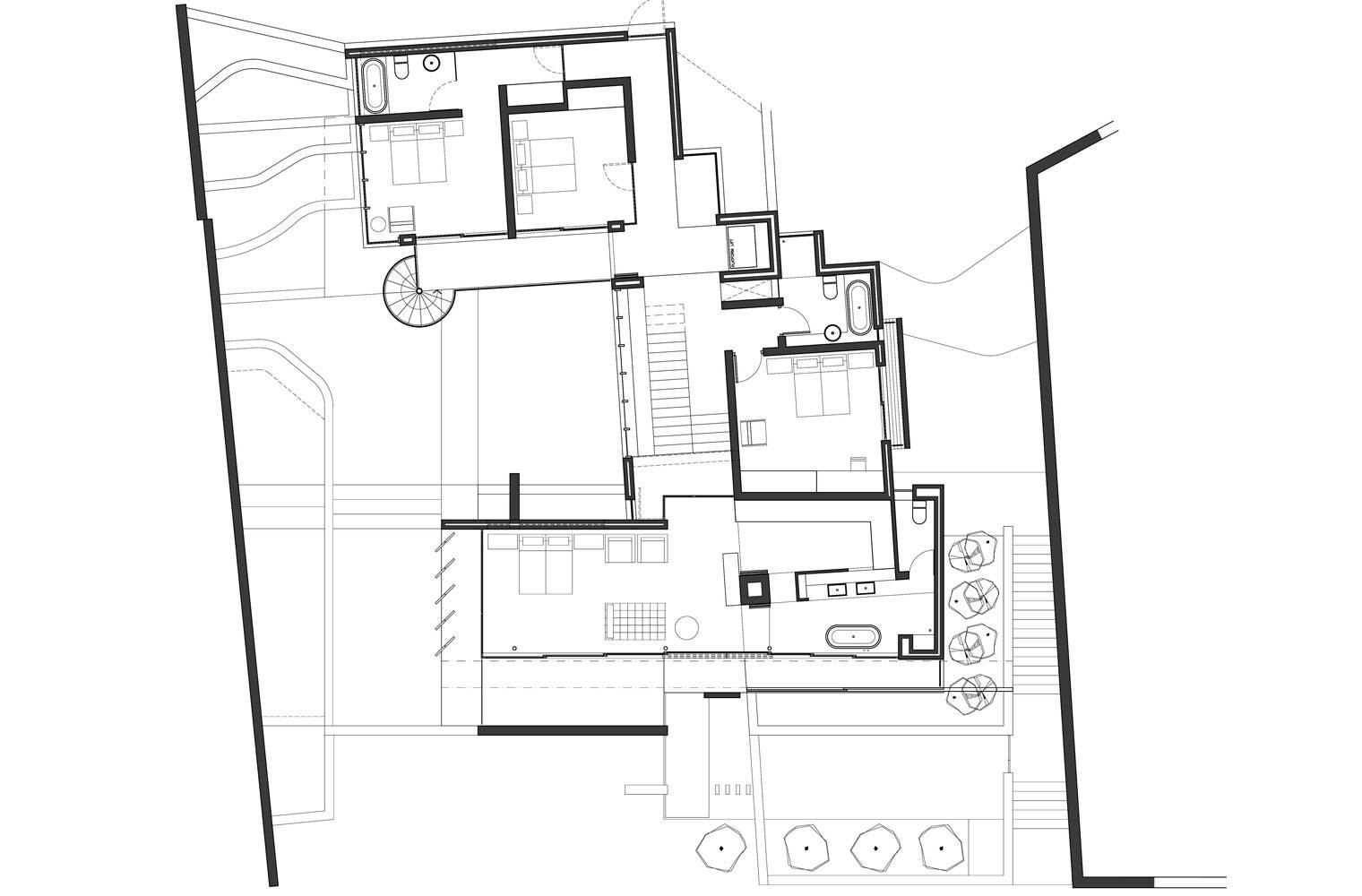 House Ferraz - Second Floor Plan