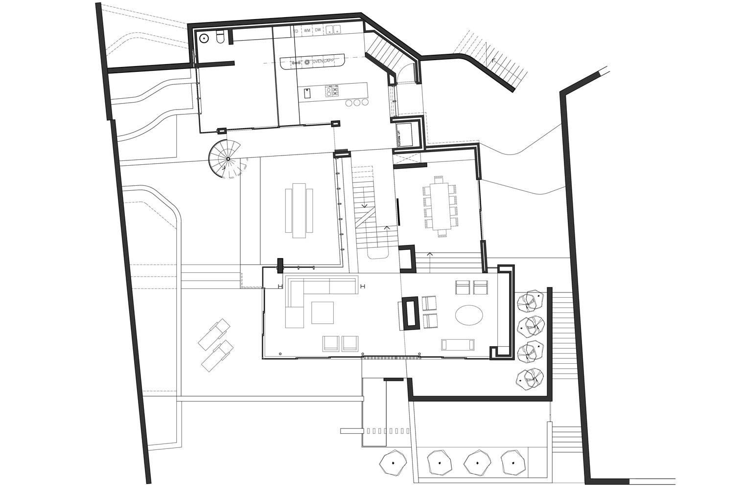 House Ferraz - First Floor Plan