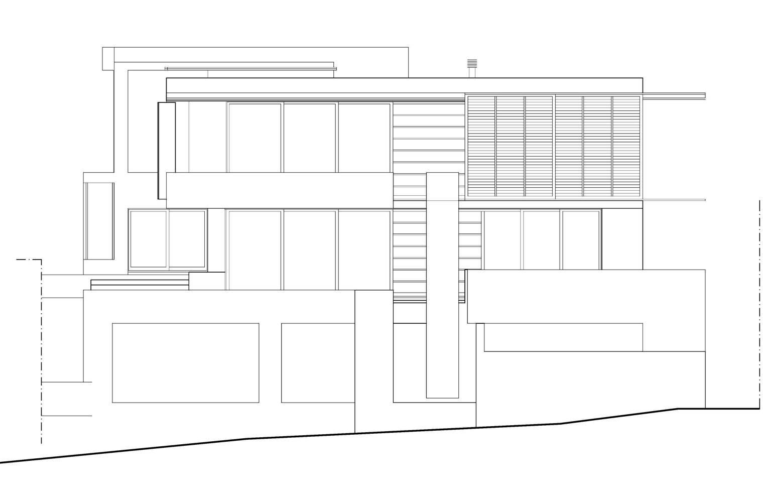 House Ferraz - Street Elevation