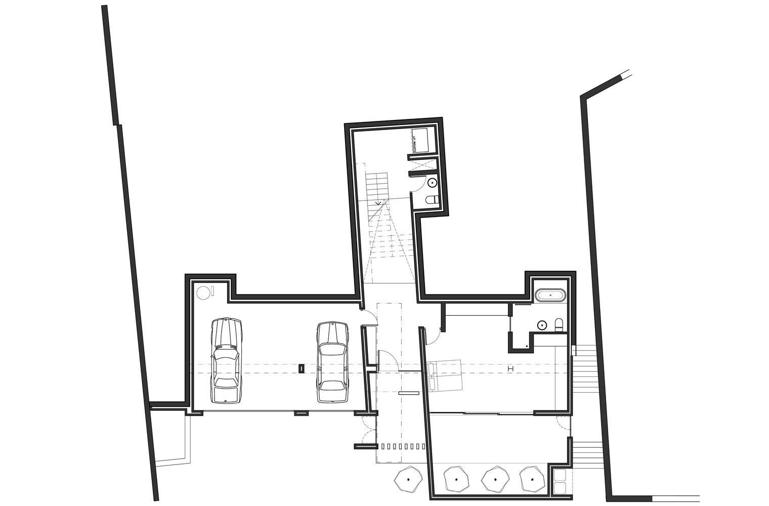 House Ferraz - Ground Floor Plan