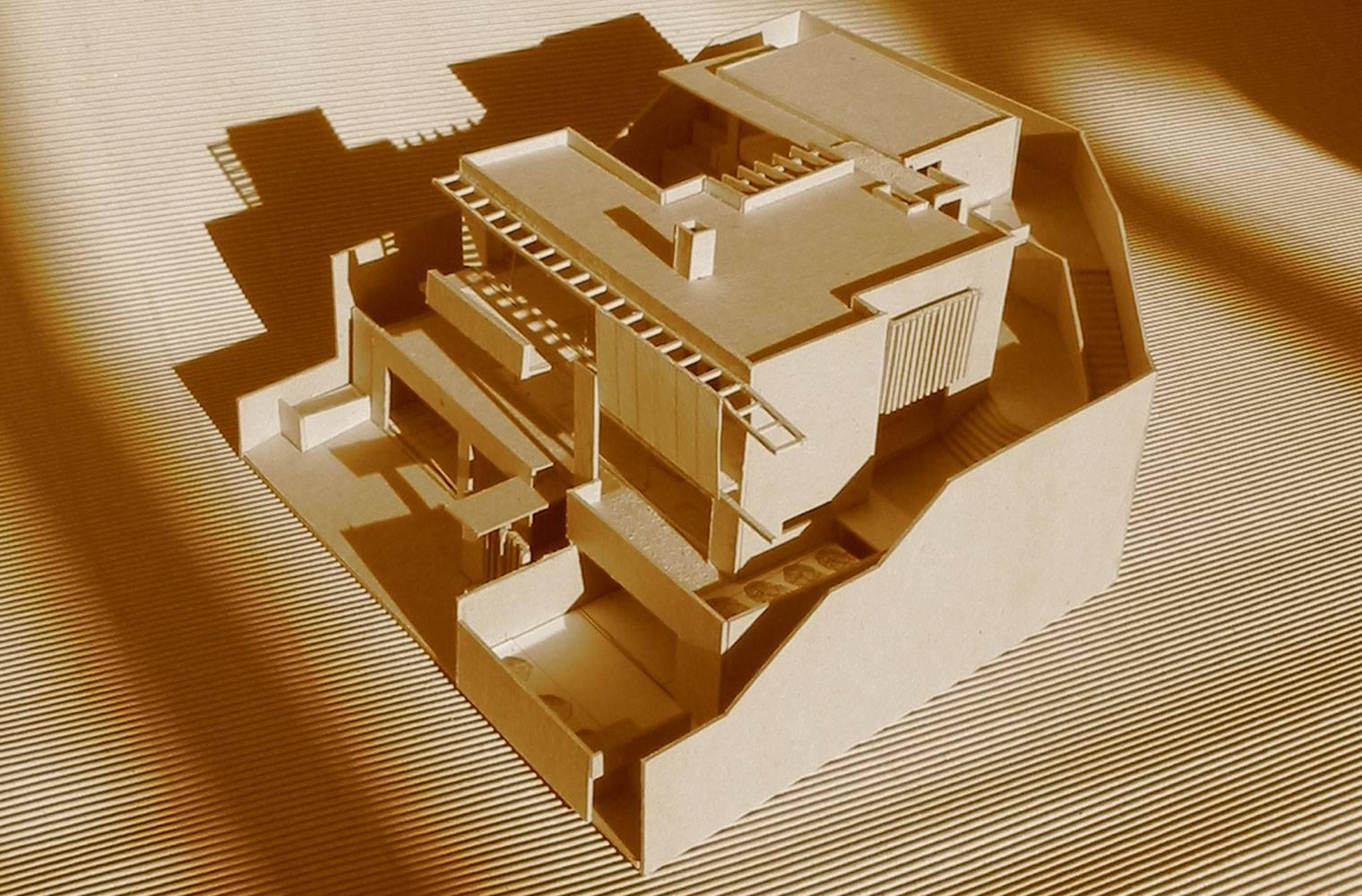 House Ferraz - Concept Model