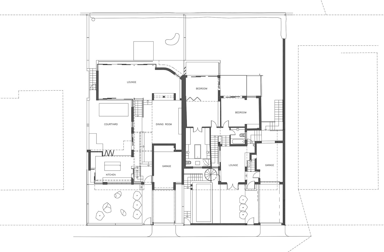 Ella Street - Ground Floor Plan