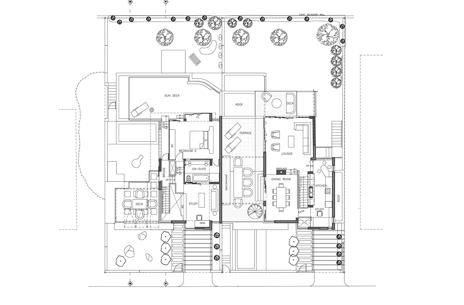 Ella Street - Upper Ground Floor Plan