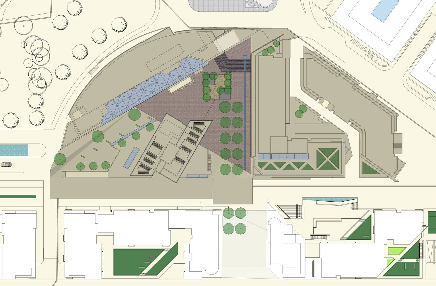Central Park, Dublin - Site Plan