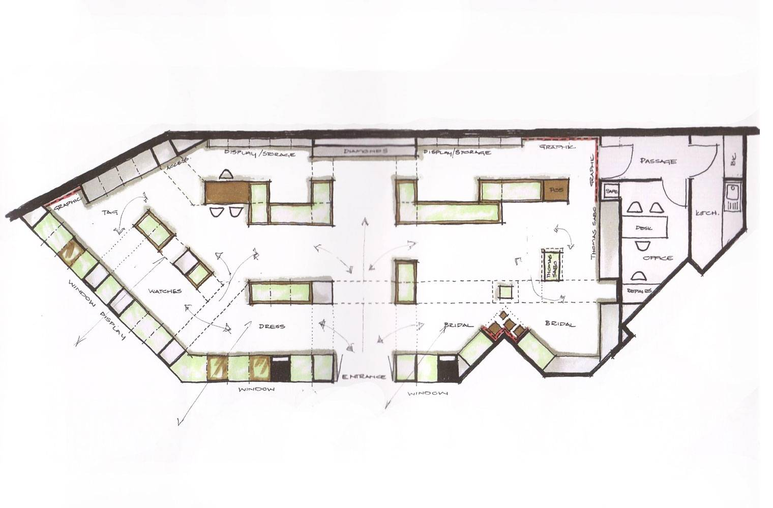 Tanur, Sandton City, Concept Plan