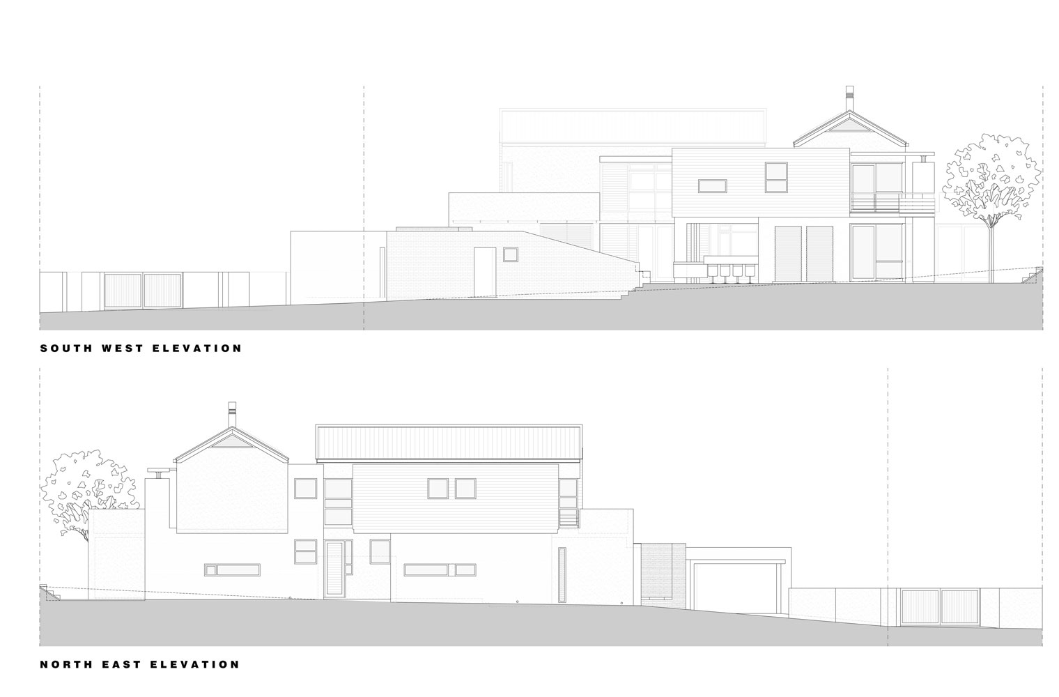 House Sibanda - Elevations