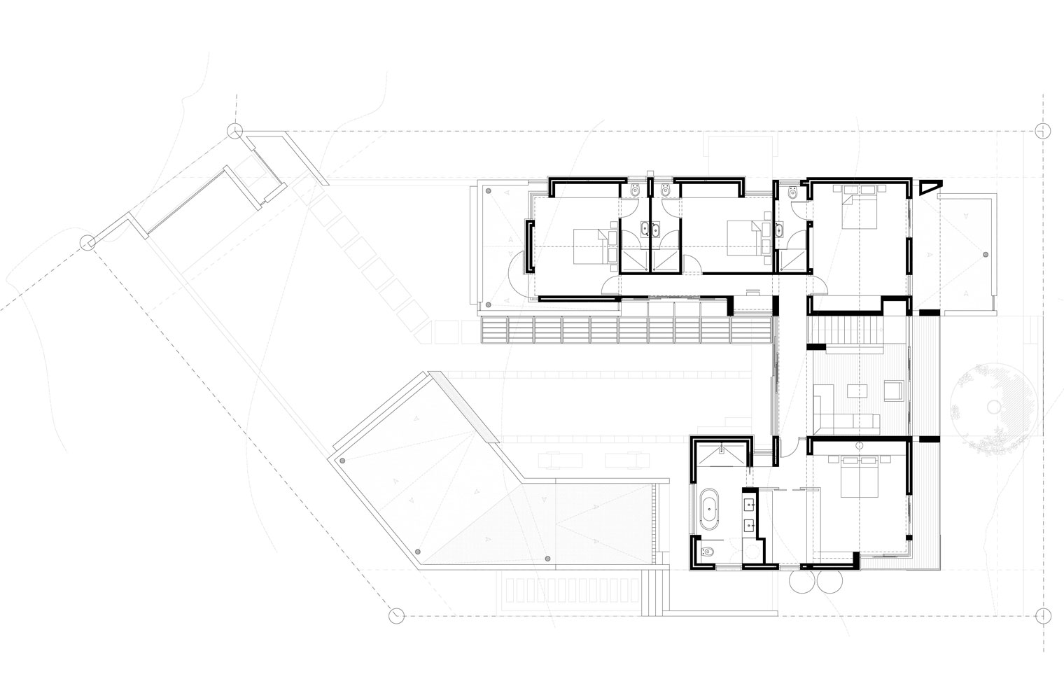 House Sibanda - First Floor Plan