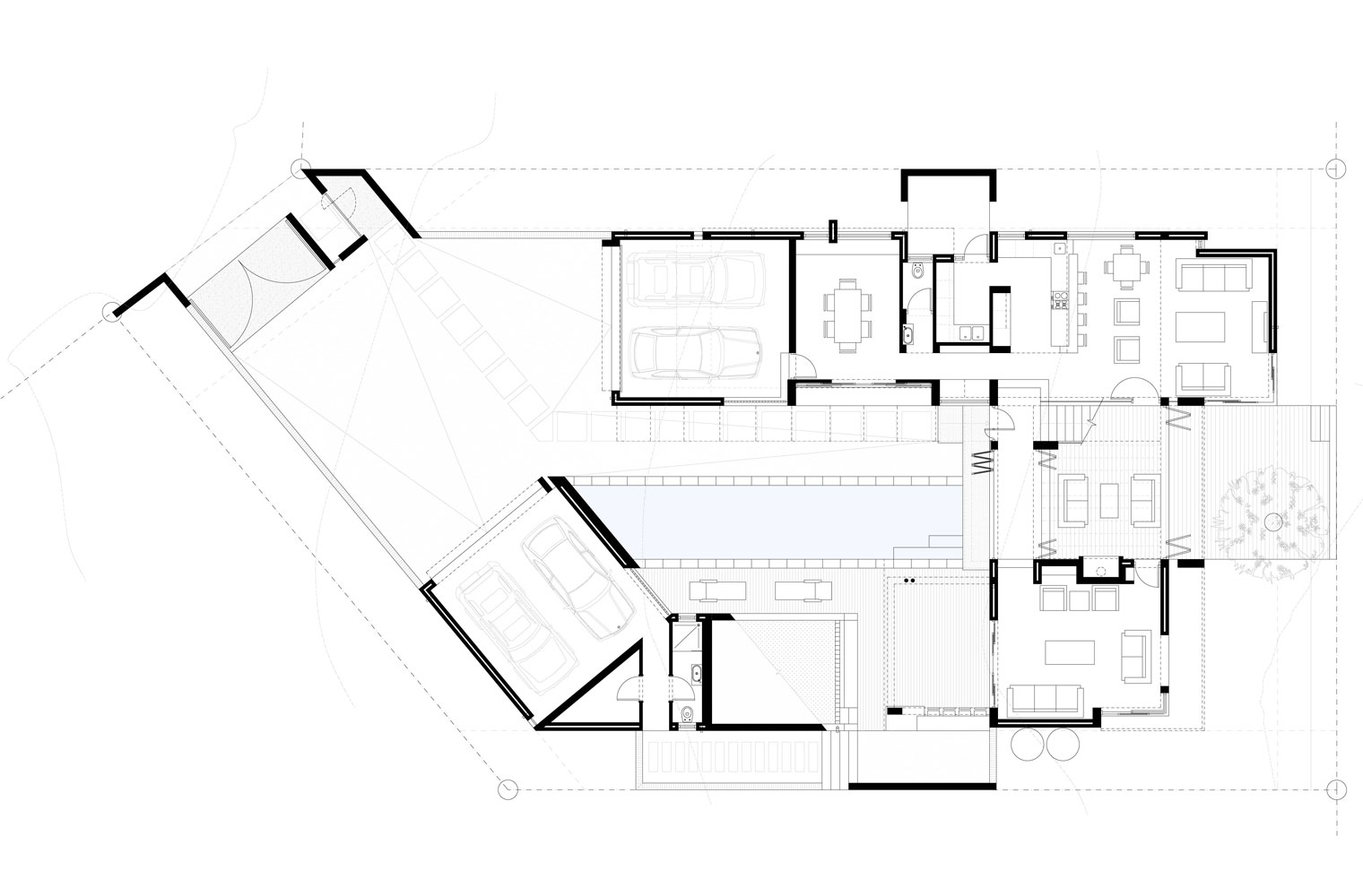 House Sibanda - Ground Floor Plan