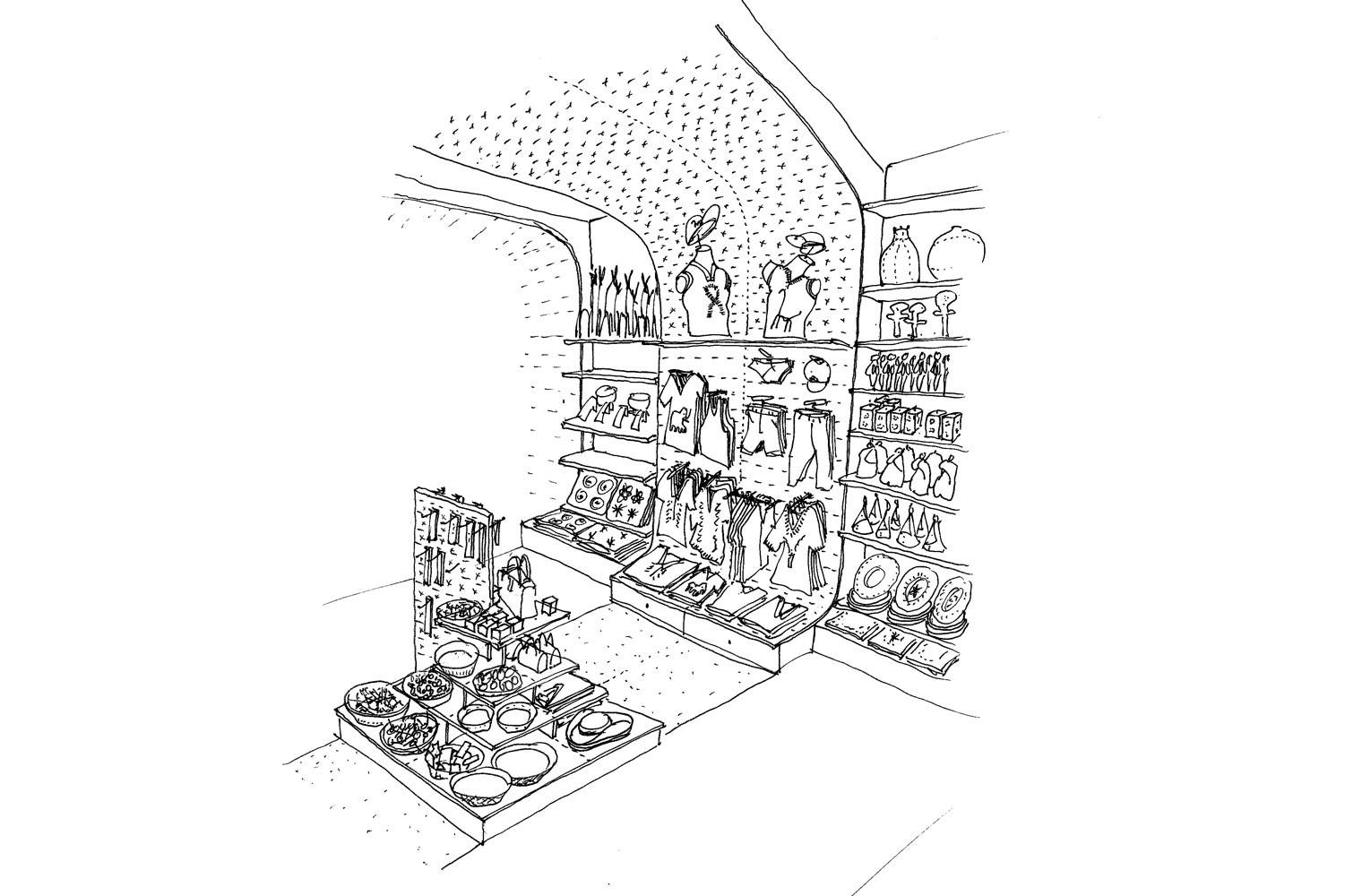African Origins - Concept Sketch CTIA
