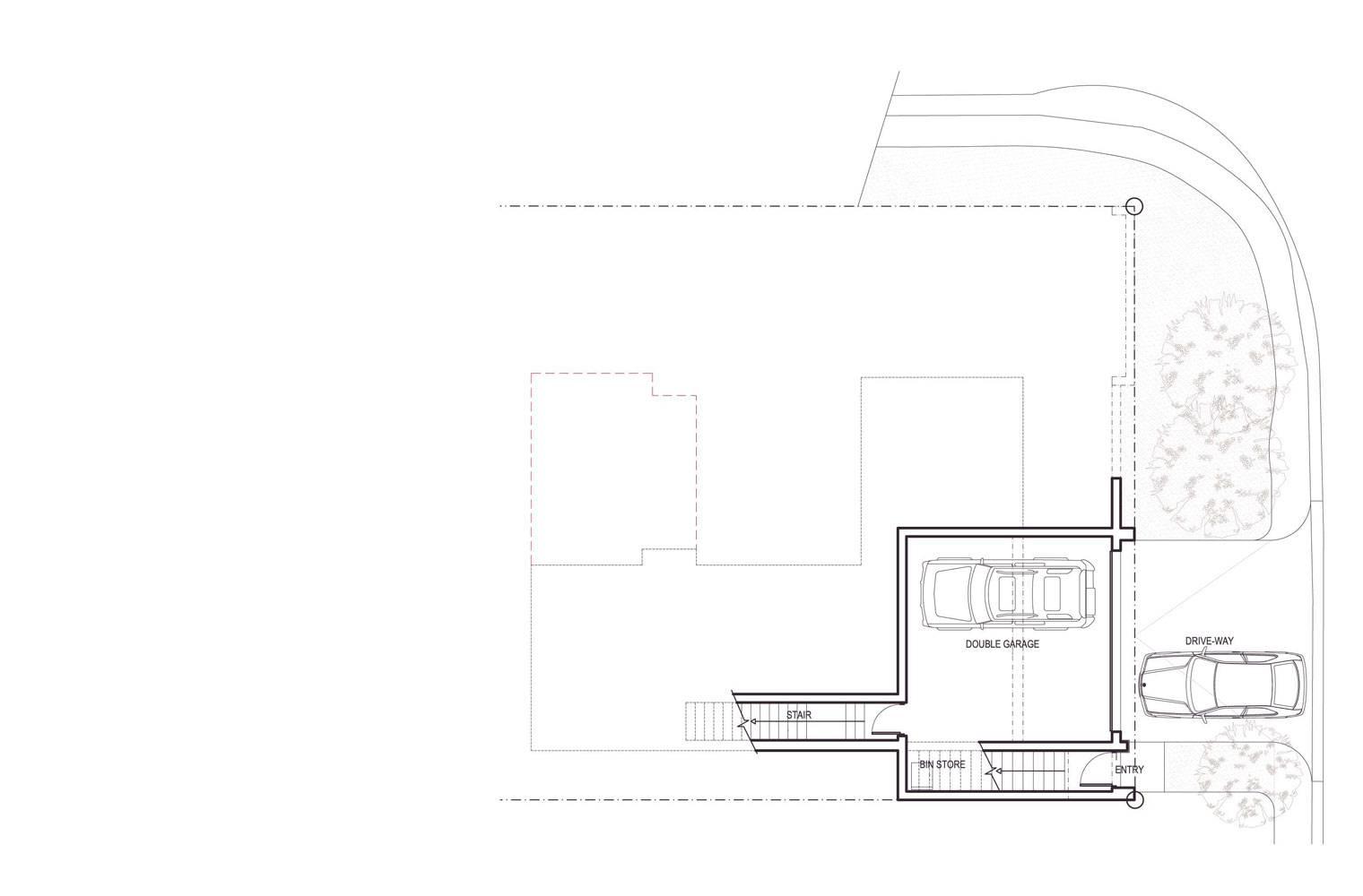 Signal Hill - Basement Plan, Unit #1