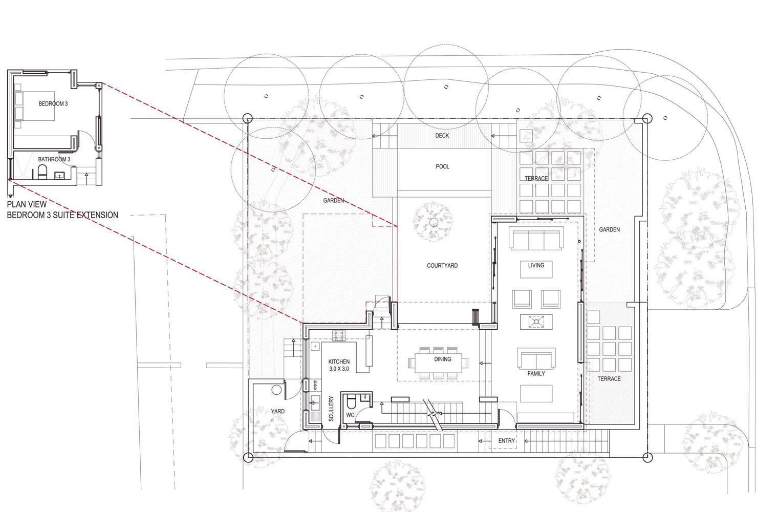Signal Hill - First Floor Plan, Unit #1