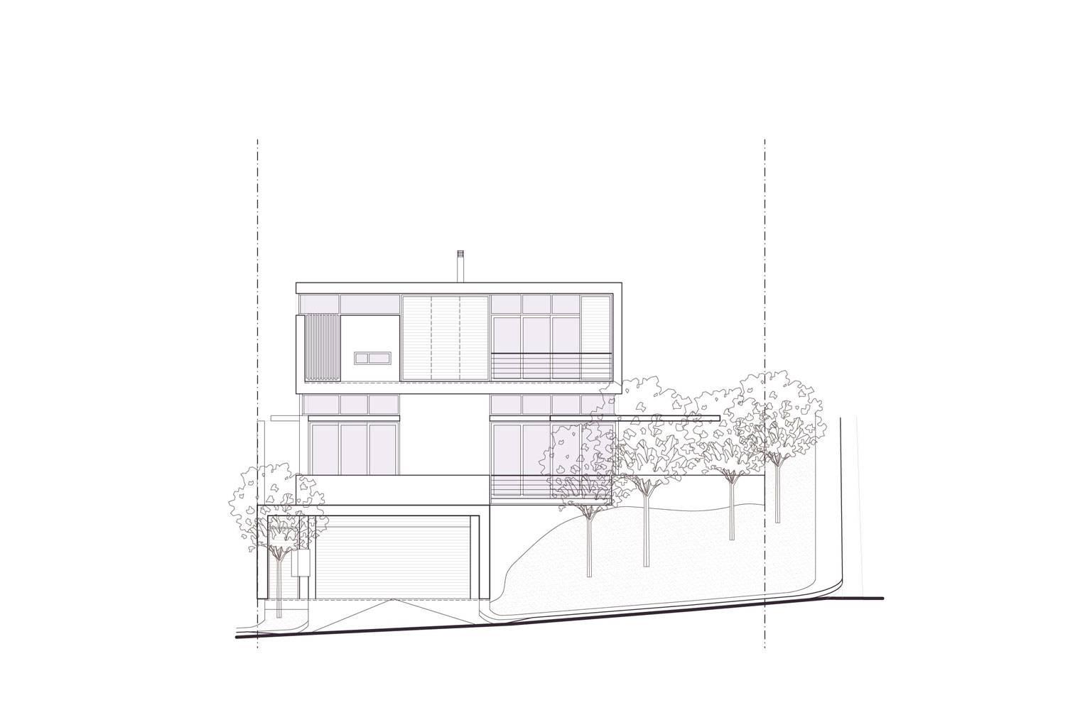 Signal Hill - Street Elevation, Unit #1