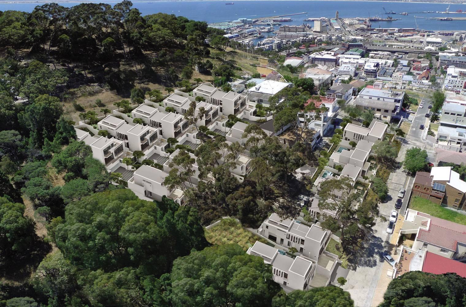 Signal Hill - Birds Eye View