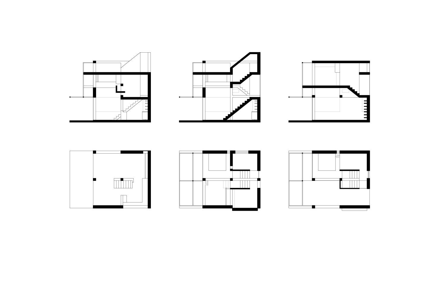 House Rese - 6x6x6 House Plans & Sections
