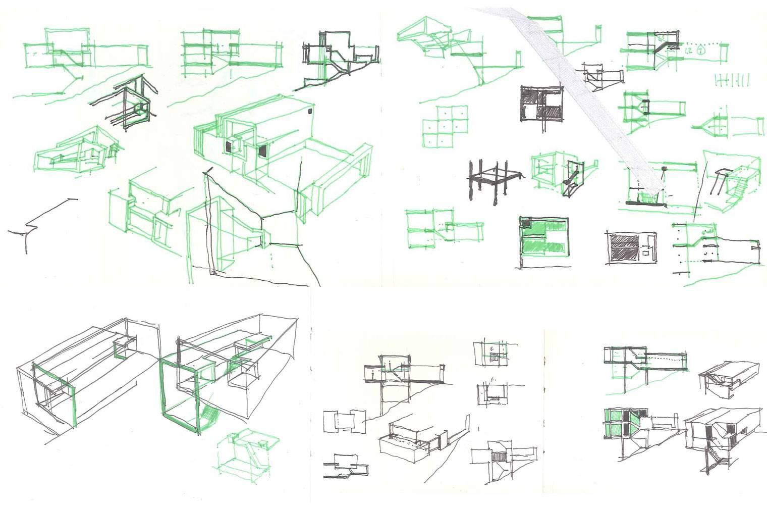 House Rese - Concept Sketches