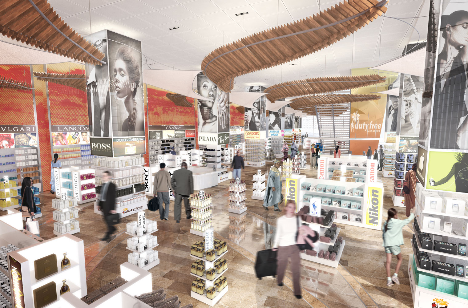 Kenya Duty Free - West View