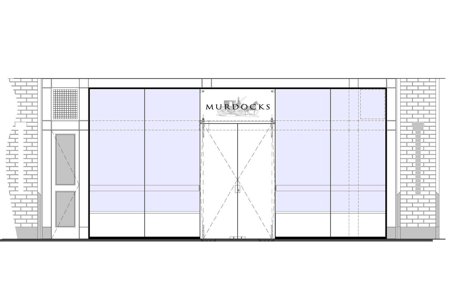Murdocks - Mall Elevation