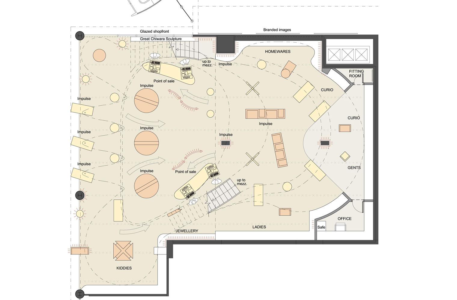 Bambara - OR Tambo, Ground Floor Plan