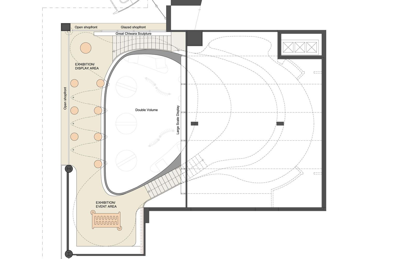 Bambara - OR Tambo, Mezzanine Plan