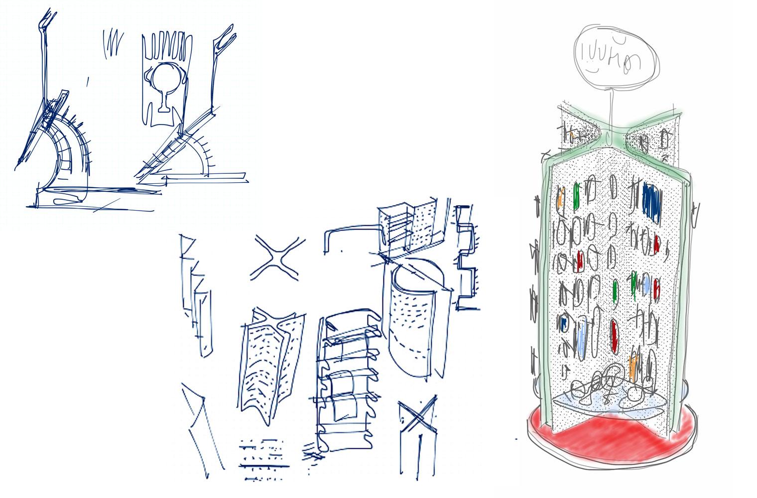 Bambara - OR Tambo, Concept Sketch