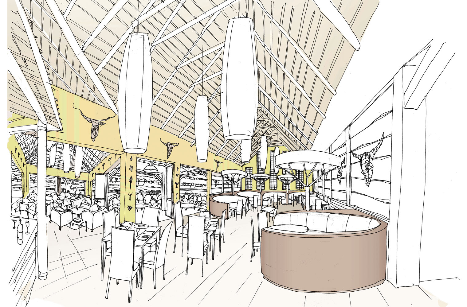 Skukuza Restaurant - Interior