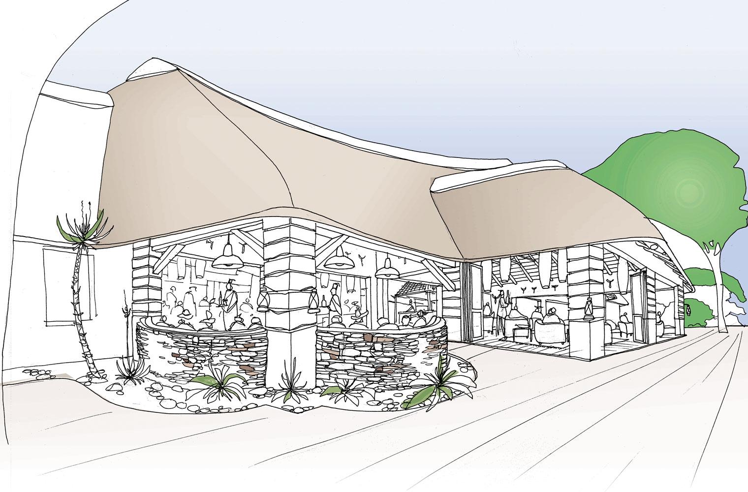 Skukuza Restaurant - Exterior