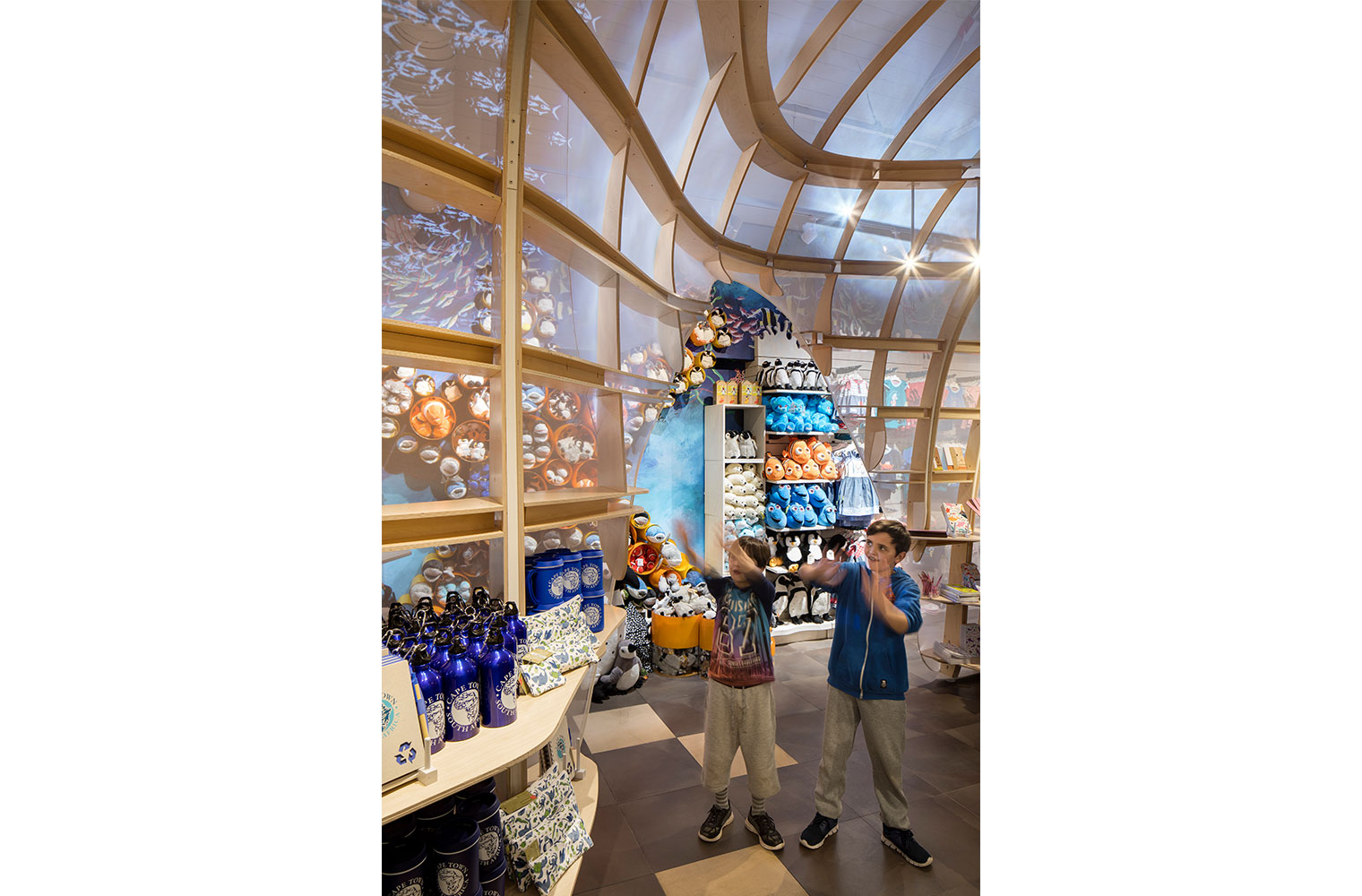 V&A Aquarium Shop