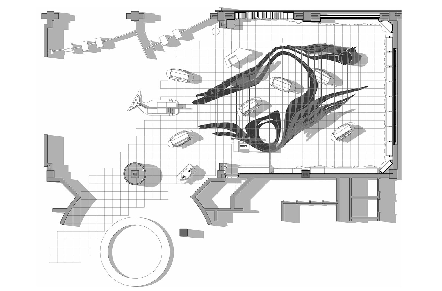 V&A Aquarium Shop - Floor Plan